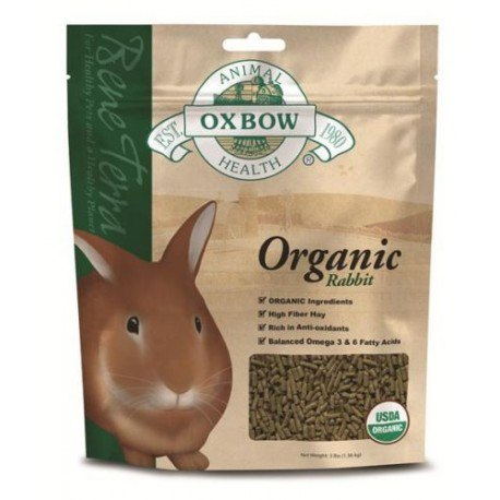 Oxbow Organic Rabbit Food Pellets 1 36 Kg Enfield Produce