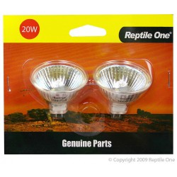 Reptile One Genuine Replacement Heat Lamps 2 Pack