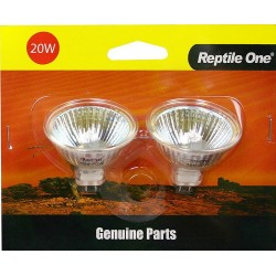 Reptile One Genuine Replacement Heat Lamps Single Bulb 35w