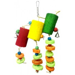 Bon Avi Loofah Bird Wind Bell
