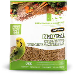ZuPreem Natural Diet Natural with Added Vitamins & Minerals