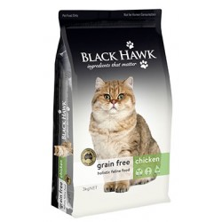 Black Hawk Grain Free Chicken Feline Formula 3kg