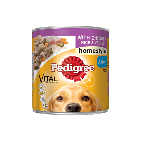 Pedigree Dog Food Cans 700G