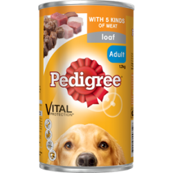 Pedigree Dog Food Cans 1.2kg