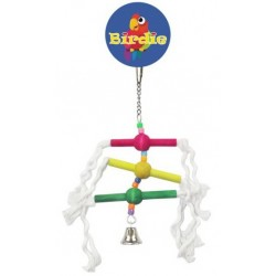 Birdie-Small Multi Perch with Bell