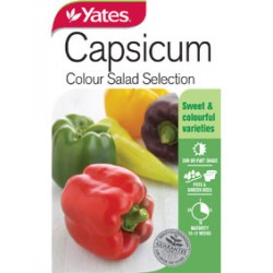 Yates Capsicum Seeds - Select Variety