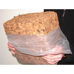 Washed Coir Chips 7 - 12mm (5kg/50-60L)