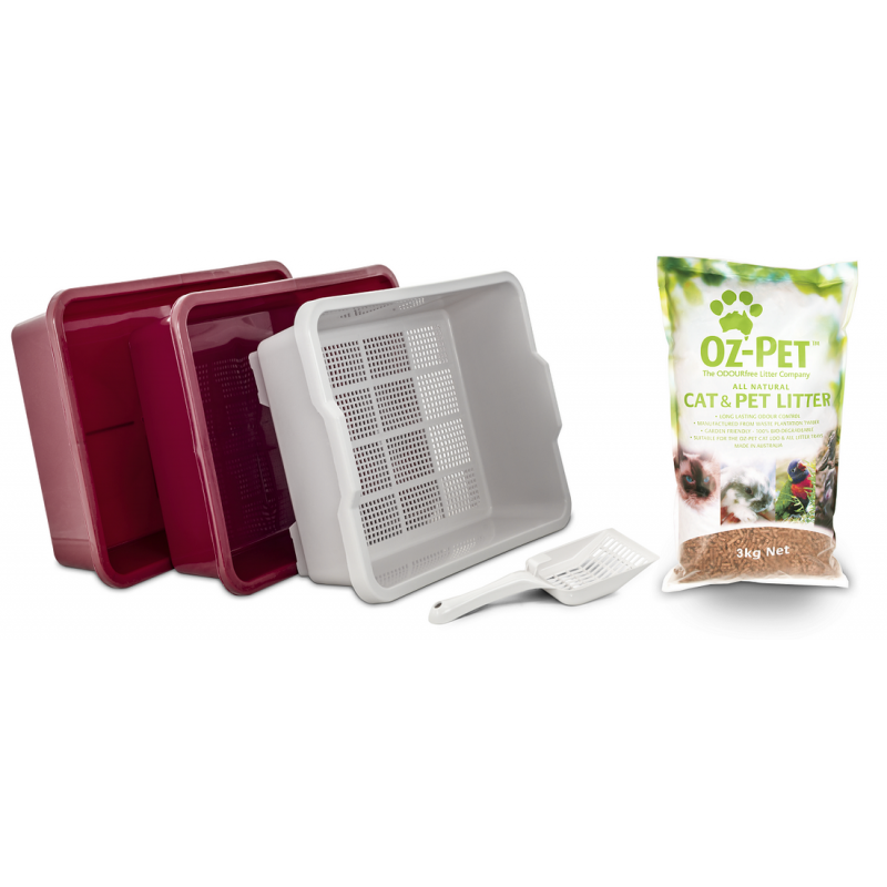 Oz Pet Cat Litter Tray