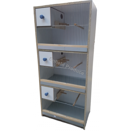 Breeding Cabinet for Budgies (Triple Storey)