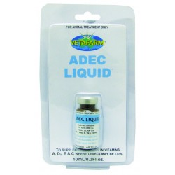 Vetafarm Adec Liquid 10mL