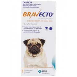 Bravect-o Flea & Tick Chew For Small Dogs Single Chew