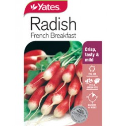 Yates Radish Seeds - Select Variety