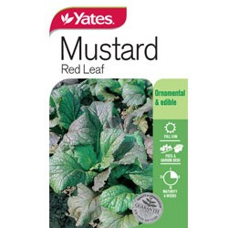 Yates Red Mustard Seeds