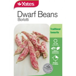 Yates Dwarf Beans Seeds - Select Variety