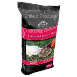 Organic Backyard Layer Pellets 20 kg