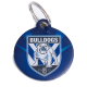 Bulldogs id Tag 30mm