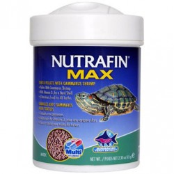 Nutrafin Max Turtle Pellets With Gammarus Shrimp