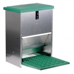 Feed-O-Matic Chicken Feeder