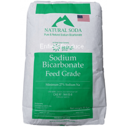 Natural Soda Sodium Bicarbonate 25kg
