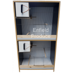 Breeding Cabinet for Budgies (Double Storey)