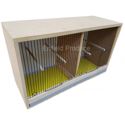 Breeding Cabinet for Canaries (Double Compartment)