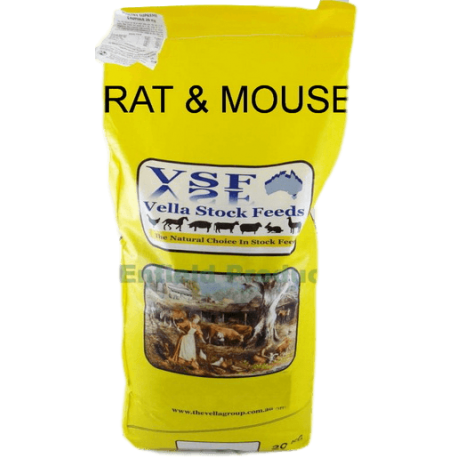 Vella Rat & Mouse Nut (Pellets) Food 20 Kg