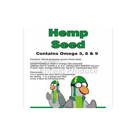 Hemp Seed for Birds and Fishing