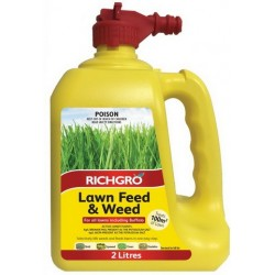 Richgro Lawn Feed & Weed 2 Liter Hose On