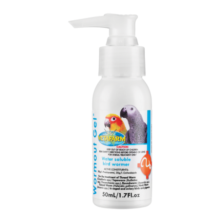 Bird Supplies Other Bird Supplies Aristopet Worming Syrup Plus Praziquantel For Ornamental Birds 50ml