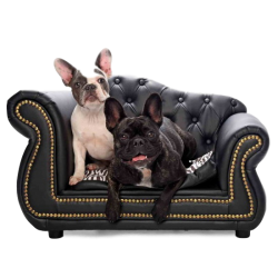 PetObsessed King of Comfort PU Leather Dog Sofa