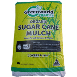 Greenworld Organic Sugar Cane Mulch