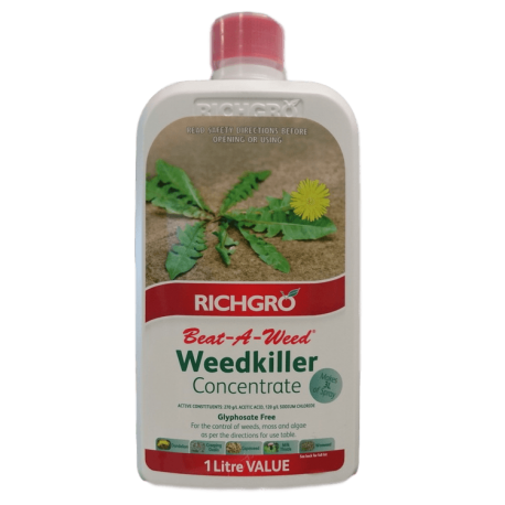 Richgro Beat-A-Weed Weedkiller Concentrate 1L