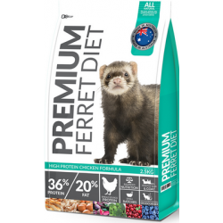 Premium Ferret Diet High Protein Chicken Formula 2.5kg