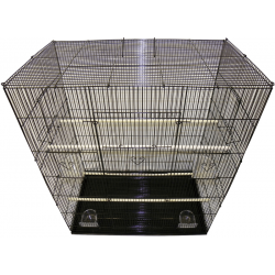 DISCLAIMER: This cage includes 3 perches even though the photo shows 4 perches
