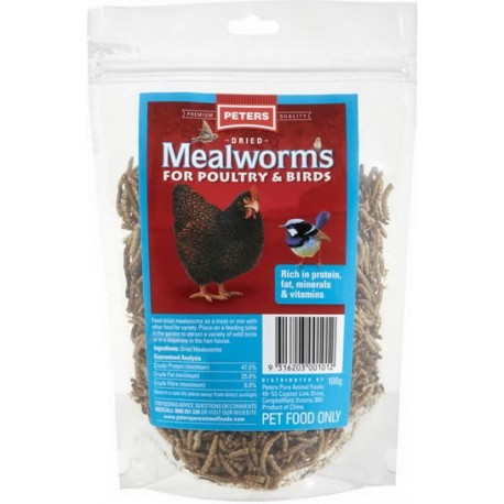 Peter's Dried Mealworms