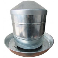 Ipetz Chook Hopper (Galvanised Feeder)