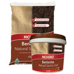 Richgro Bentonite Natural Sand to Soil 15kg