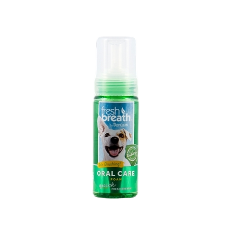 Tropiclean Fresh Breath Oral care Foam 133ml