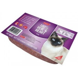 Prime100 Mince for Cats 100% Veal & Heart 400g