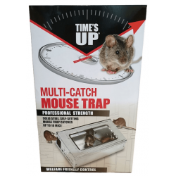 Times Up Multi-Catch Mouse Trap