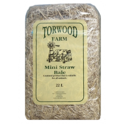 Torwood Farm Mini (Barley) Straw Bale 22L
