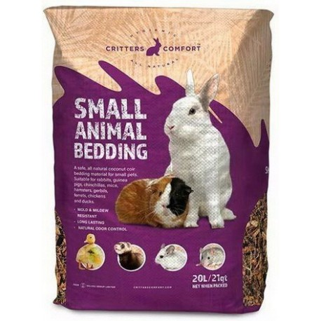 Critters Comfort Small Animal Bedding 20L