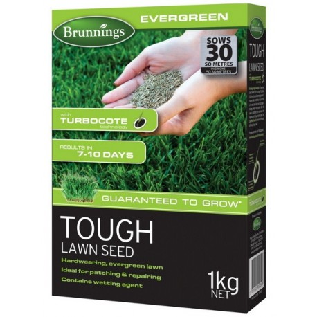 Brunnings Tough Lawn Seed 1kg