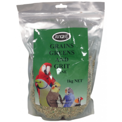 Avione Greens Grains & Grit (FINE) 1kg