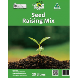 Grow Better Seed Raising Mix (Organic) 25L