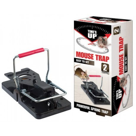Times Up Vertical Spring Mouse Trap
