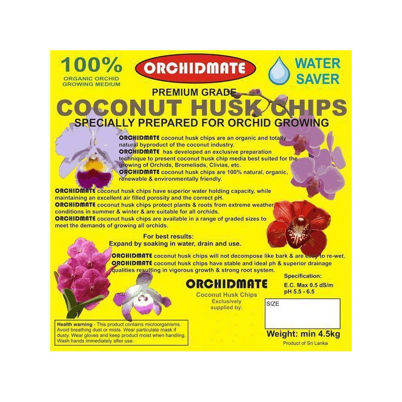 Orchidmate 70l Professional Orchid Growing Medium Blocks